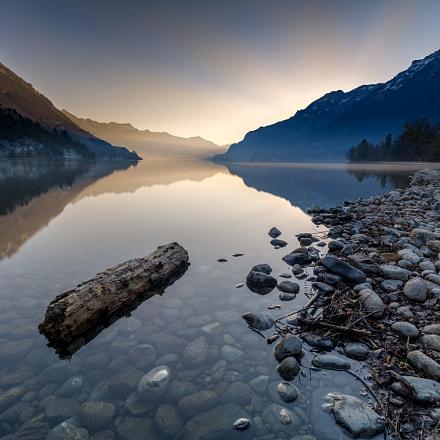 Awakening at lake Brienz