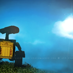 WALL-E Series:  me go home... by Paulo Dias (paulo-dias)) on 500px.com