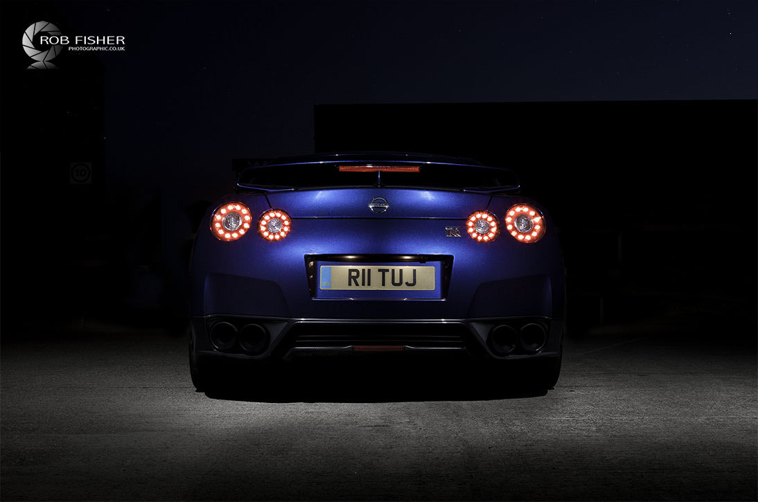Photograph Nissan GTR Back by Rob Fisher on 500px