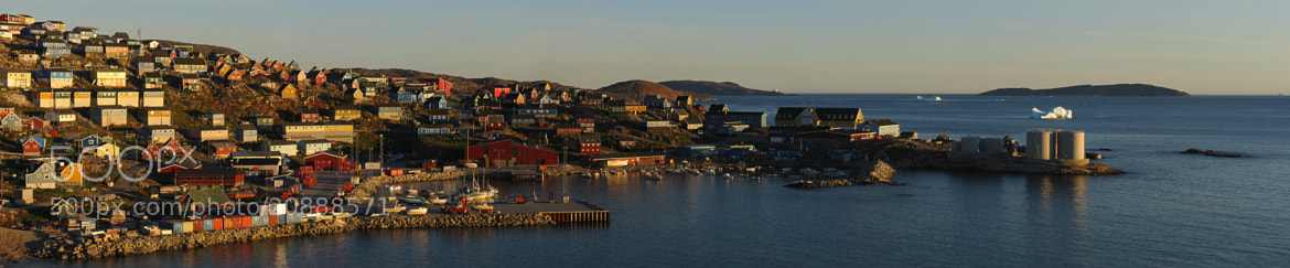 Photograph Upernavik in midnight sun by Kim Hansen on 500px