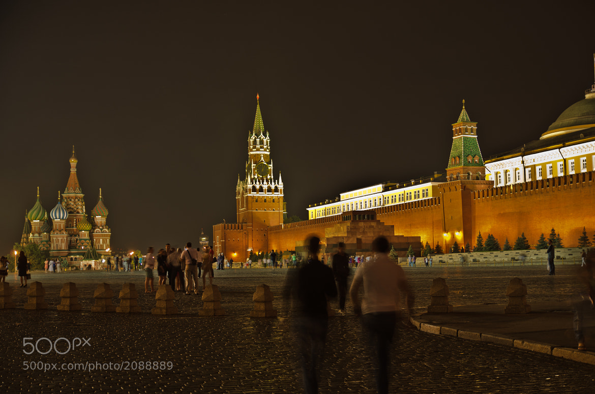 Photograph Red Square in Moscow at night by Michael Goyberg on 500px