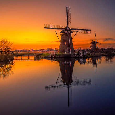 Windmills of Holland, Sony ILCE-7R, Sony FE 16-35mm F4 ZA OSS