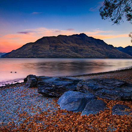 Queenstown New Zealand Sunset, Canon EOS 5D MARK IV, Canon EF 16-35mm f/2.8L II