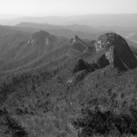 Peaks On Garibong Ridge, Fujifilm FinePix J110W