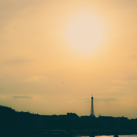 Paris - Sunset, Sony ILCE-7R, Sony FE 24-70mm F4 ZA OSS