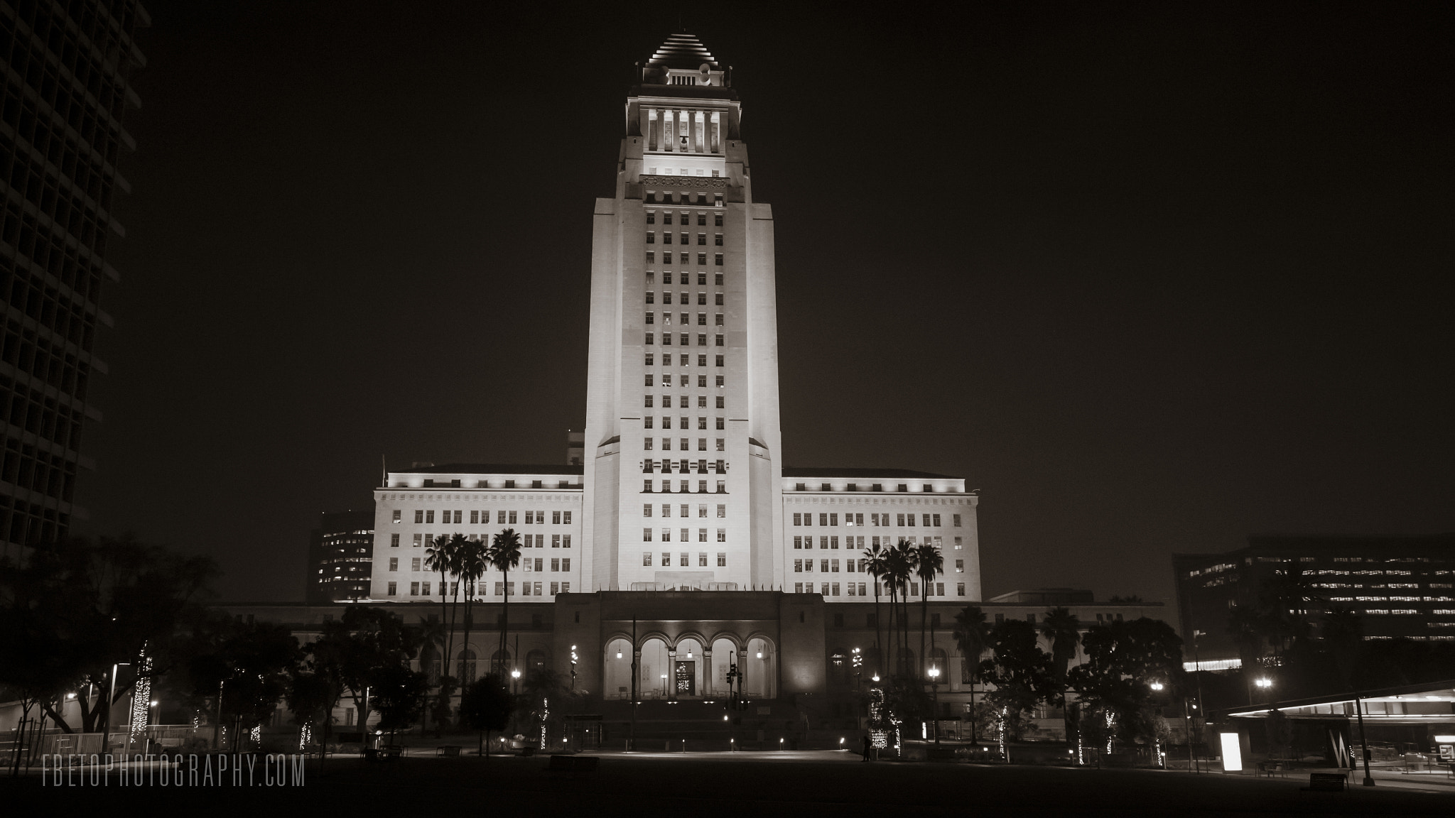 Photograph Los Angeles City Hall by Fernando De Oliveira on 500px