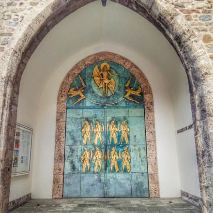 Old Abbey Door