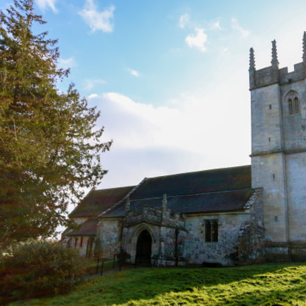 St Giles Church, Imber, Canon EOS 70D, Sigma 10-20mm f/4-5.6