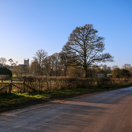 Looking Along Imber High, Canon EOS 70D, Sigma 10-20mm f/4-5.6
