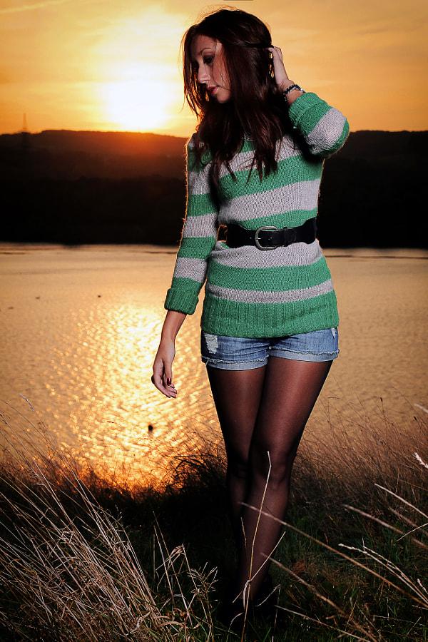 Sunrise Shoot with Anastasia