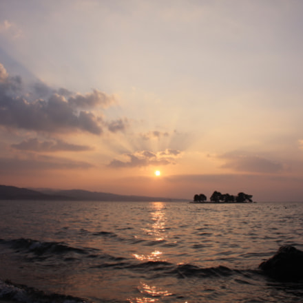Shinjiko's Calm Sundown, Canon EOS 40D, Canon EF-S 18-55mm f/3.5-5.6 USM