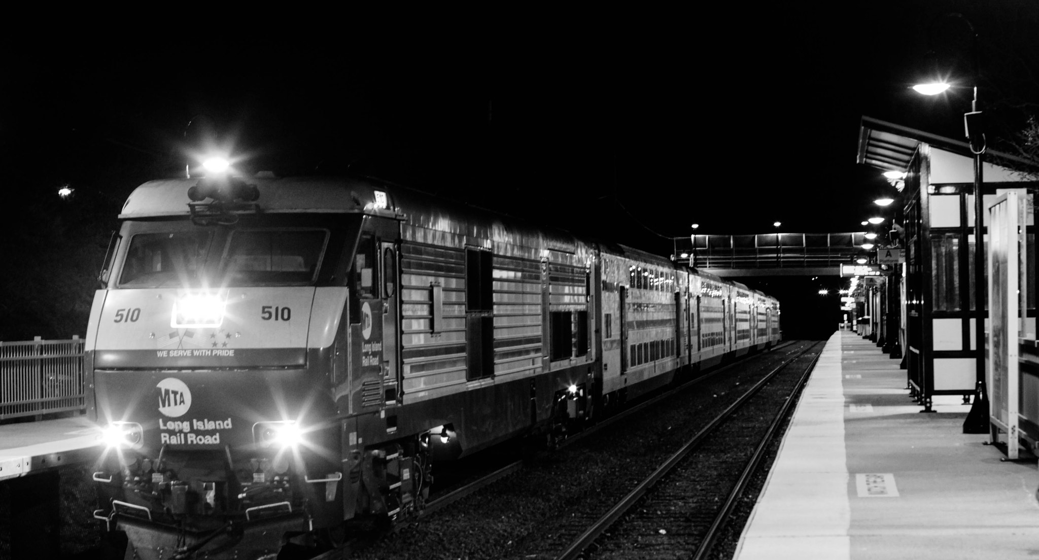Photograph [ Night Train ]  by Anh Gerrard  on 500px