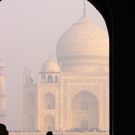 Taj in mist, Panasonic DMC-FZ10