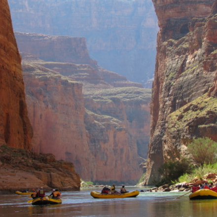 Rafting the Grand Canyon, Canon POWERSHOT SX530 HS
