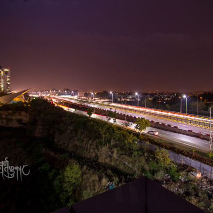 Islamabad At Night, Canon EOS KISS X5, Sigma 10-20mm f/3.5 EX DC HSM