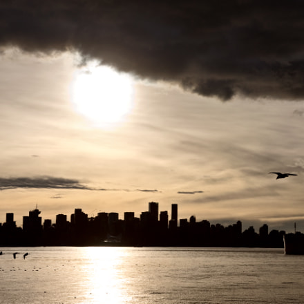 Vancouver Sunset, Canon EOS-1DS MARK III, Canon EF 24-105mm f/4L IS