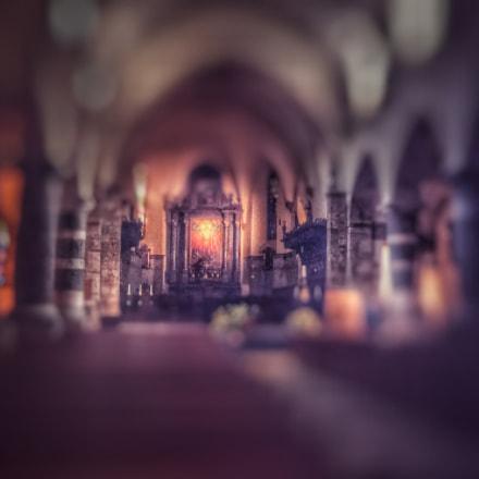 Chancel of the St-Maurice Basilica, Switzerland