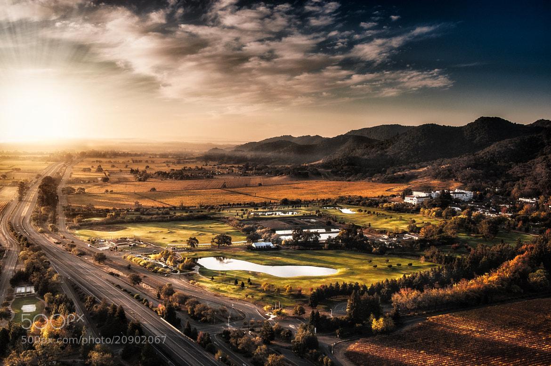 Photograph Napa Valley Sunrise by Steve Steinmetz on 500px