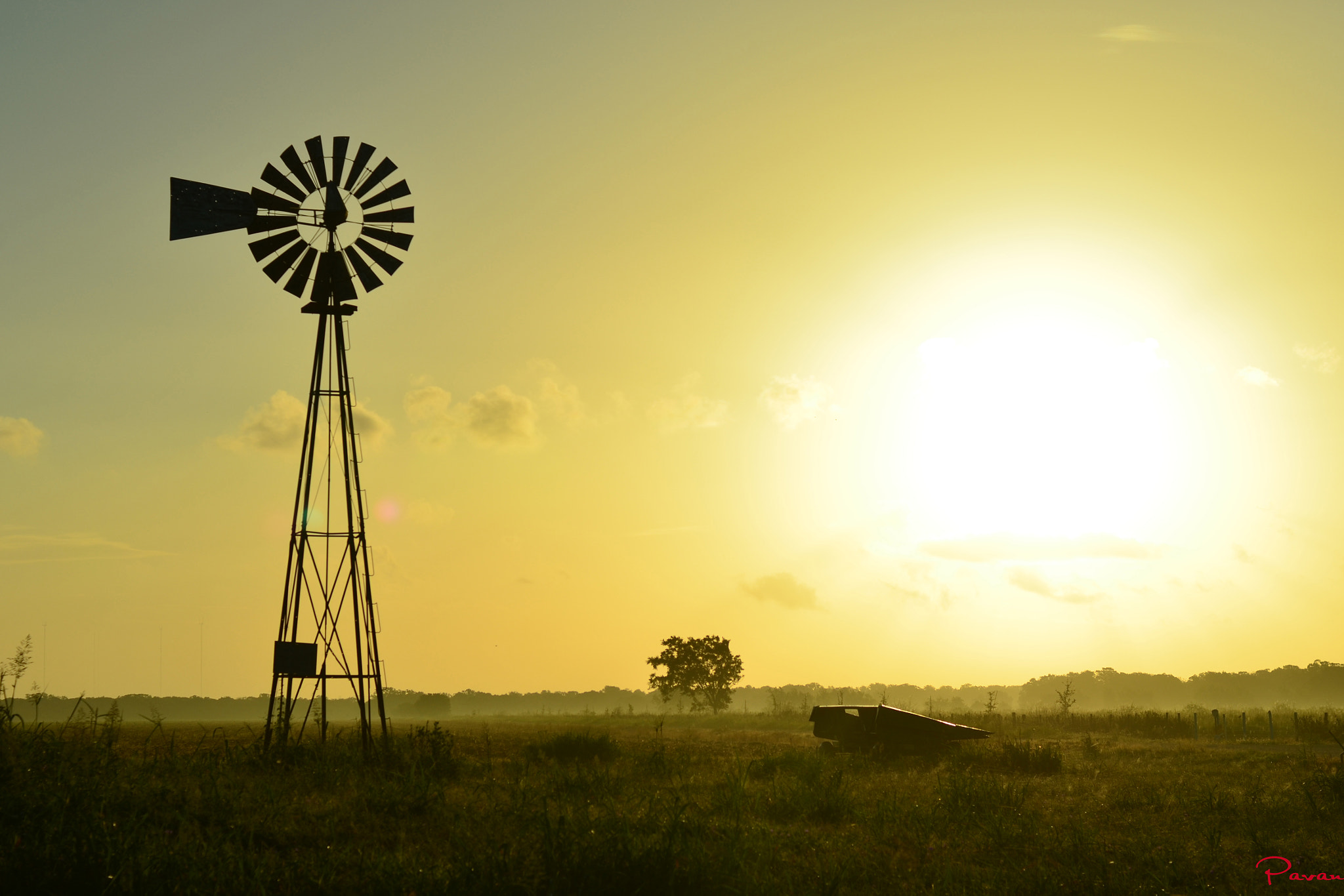 Photograph Texan Country Morn by Pavan  Kumar on 500px