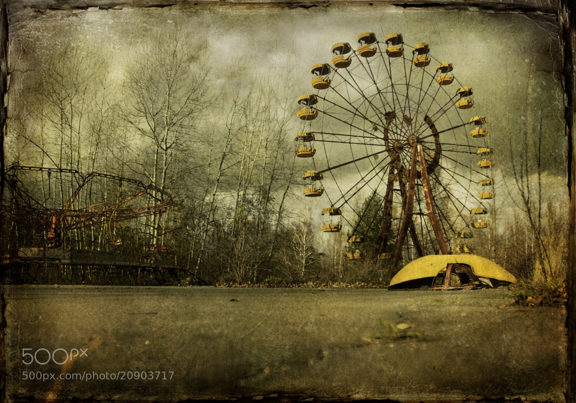 Photograph 'Ghost of Pripyat' by Ron  Azevedo on 500px