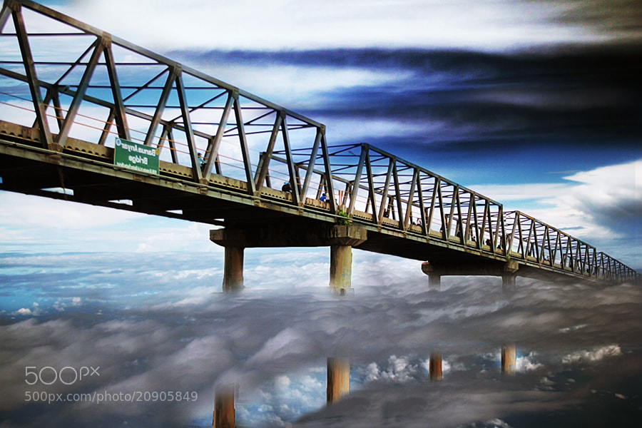 Photograph bridge by 3 Joko on 500px