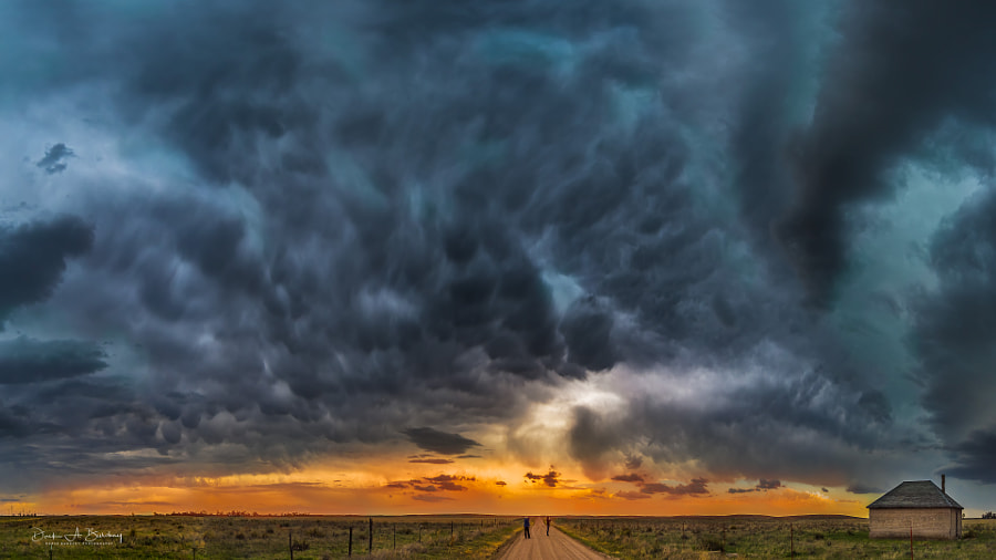 High Plains Sunset by Derek Burdeny