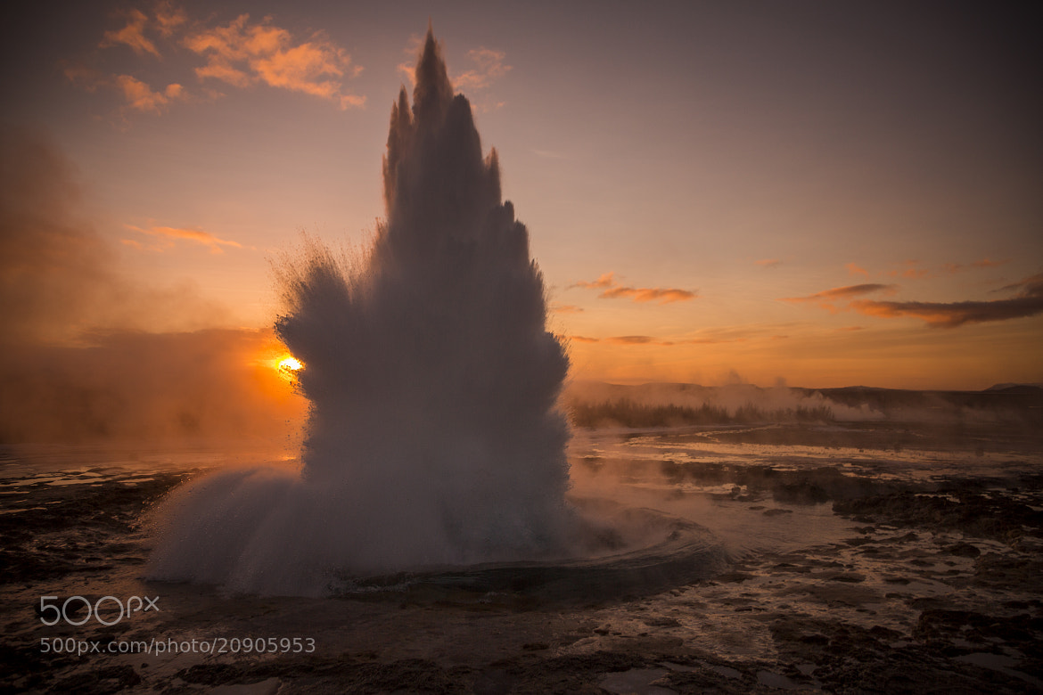 Photograph Geysir Iceland by Ivan Castro on 500px
