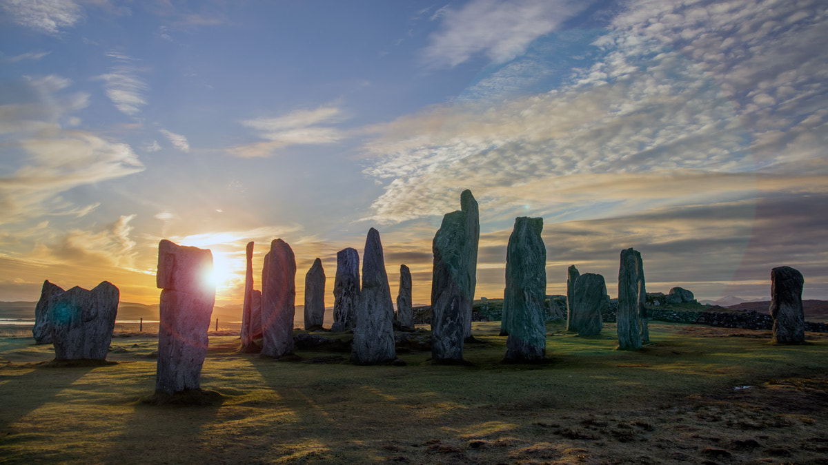 Photograph Winter sunrise, Callanish, Isle of Lewis by David Mould on 500px