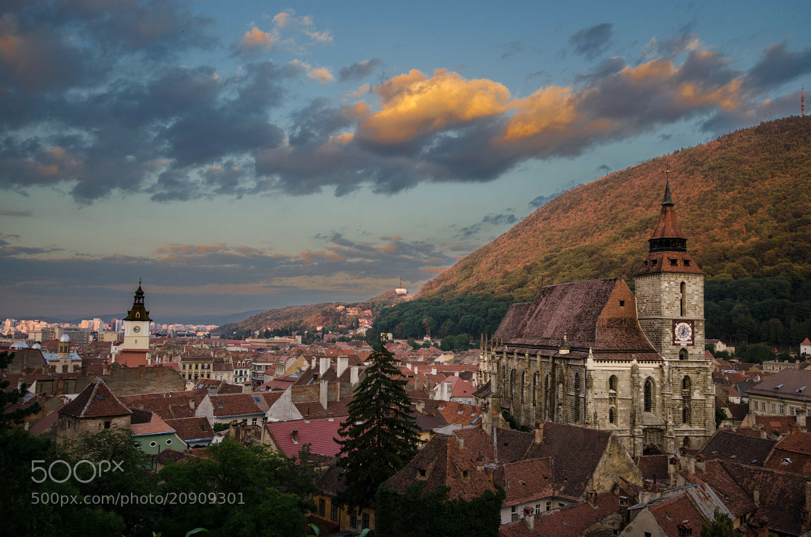 Photograph Sunset in Brașov by César Asensio Marco on 500px