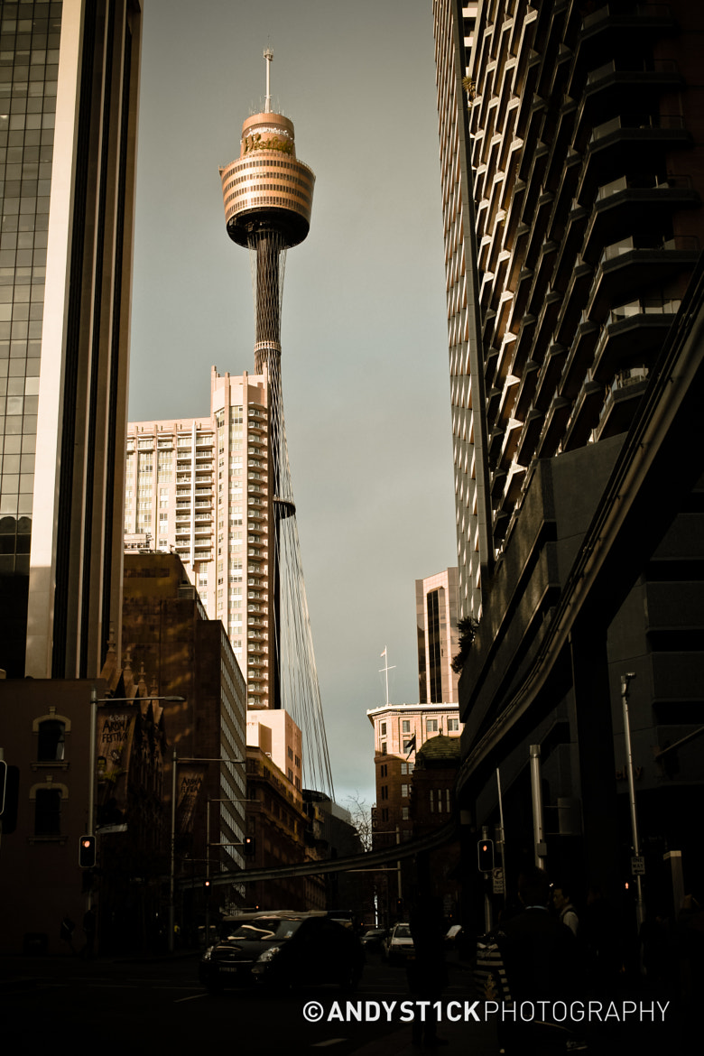 Photograph Sydney Tower in Retrospect by Andy St1ck on 500px