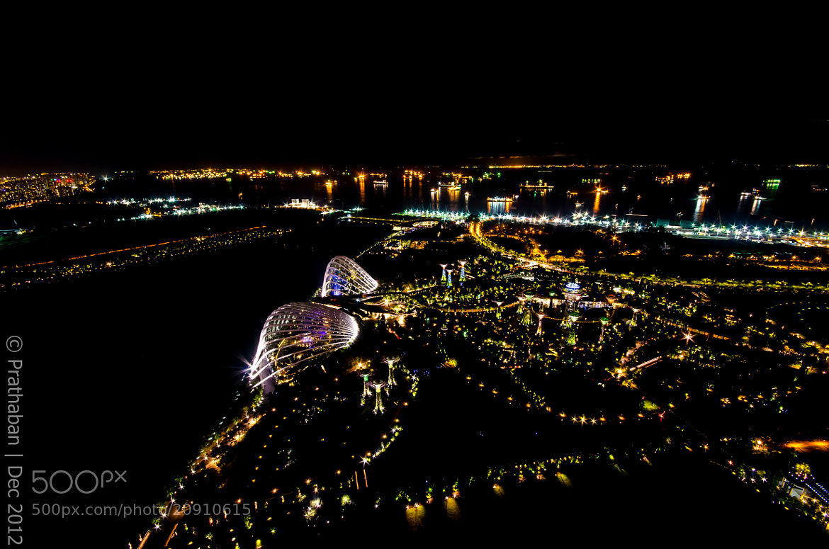 Photograph Gardens by the bay - From above by Prathaban Umapathysarma on 500px