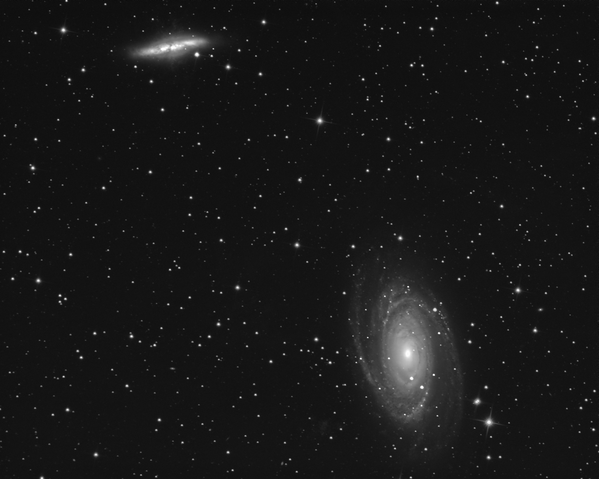 Photograph M81 and M82 by Vlad Lapadatescu on 500px