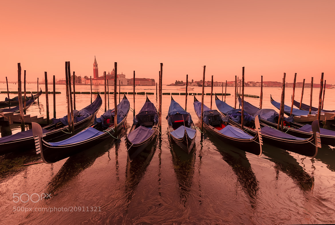 Photograph Gondolas at Dawn by Csilla Zelko on 500px