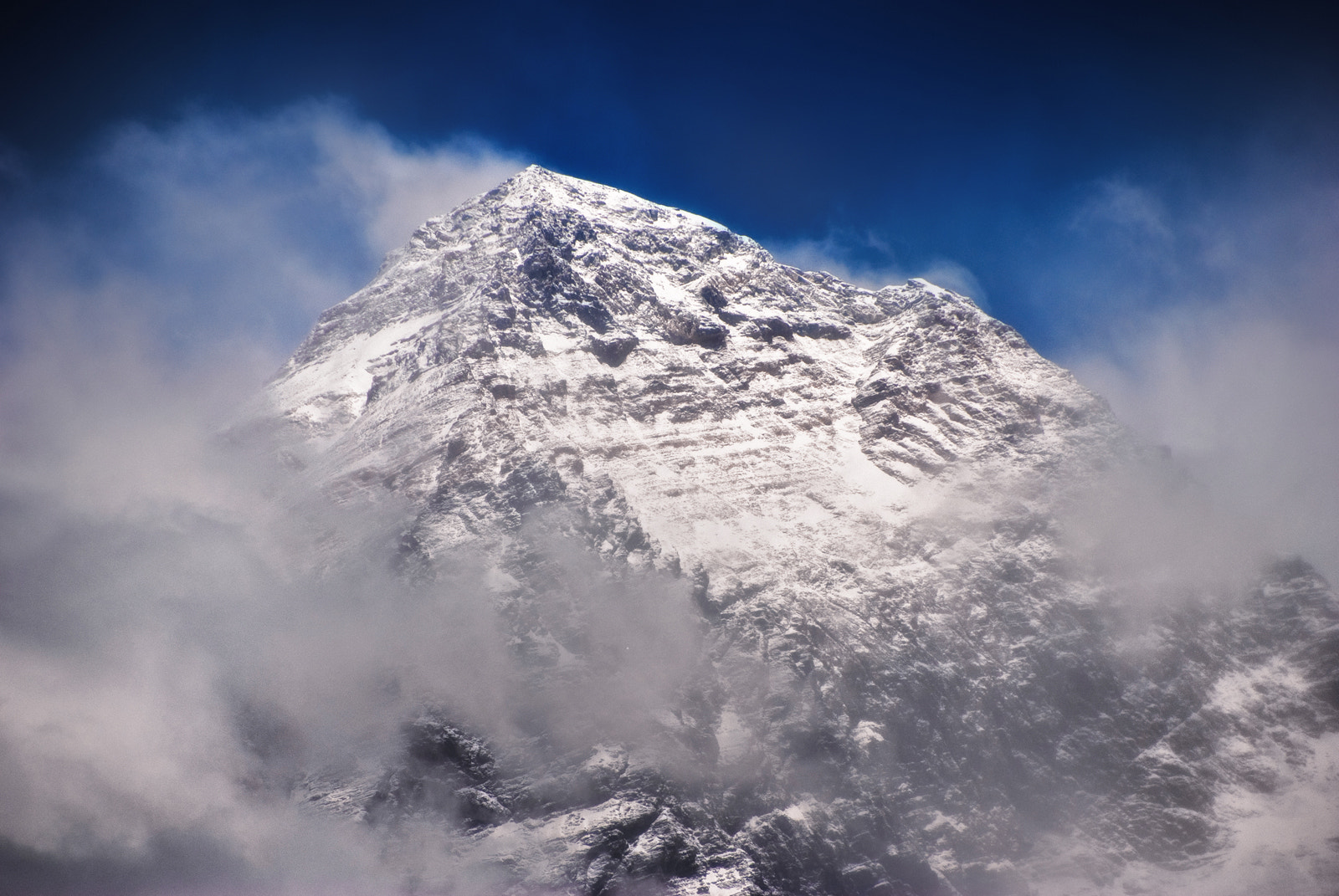 Photograph #1 (Cloudy view to Everest from Kala Pathhar) by Ivan Roslyakov on 500px