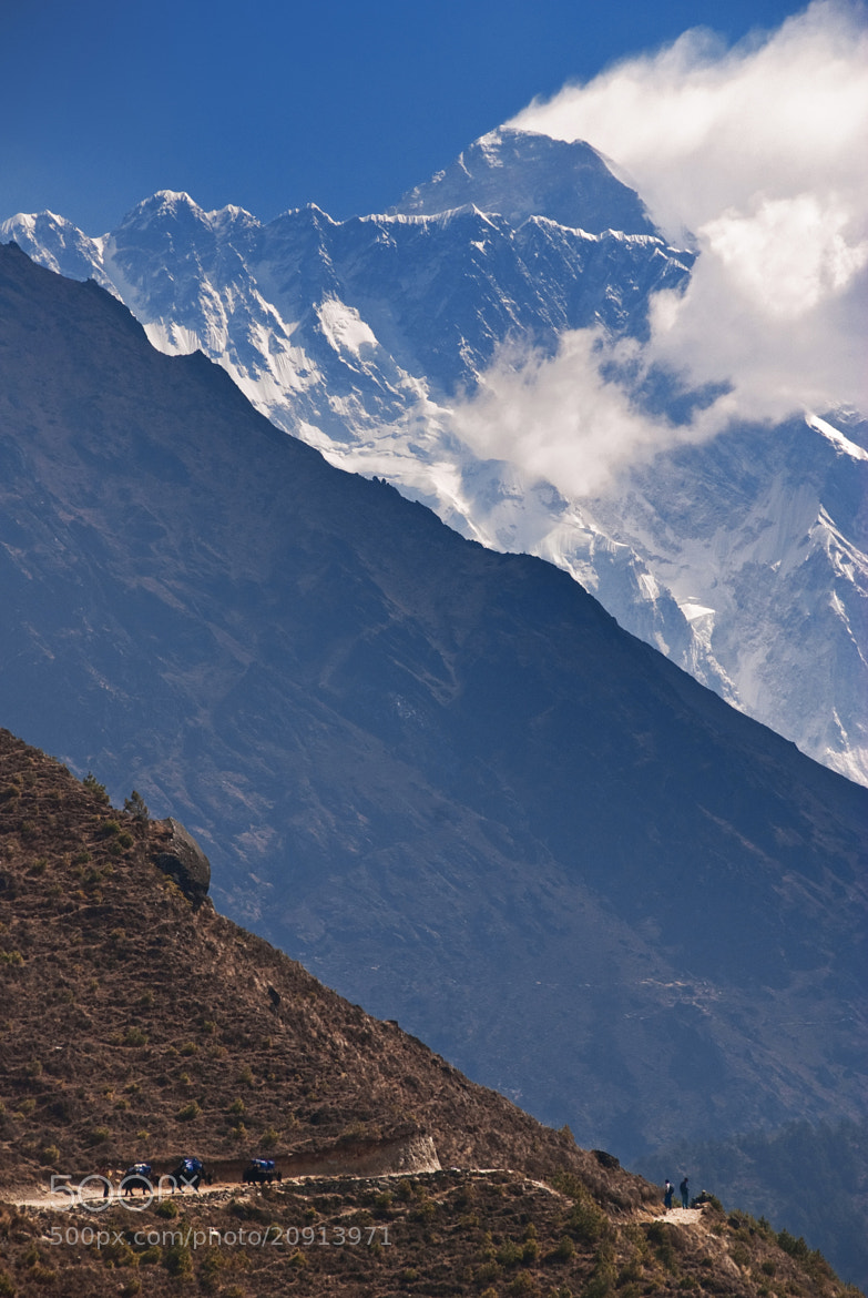 Photograph #1 (First view of Everest on a trek) by Ivan Roslyakov on 500px