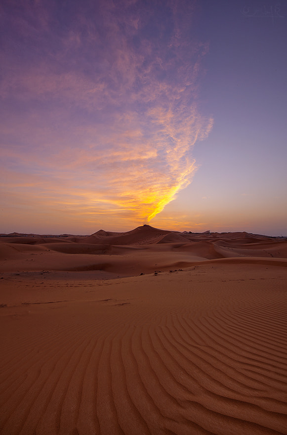 Photograph Fire from Desert  by Mohamed Al Jaberi on 500px