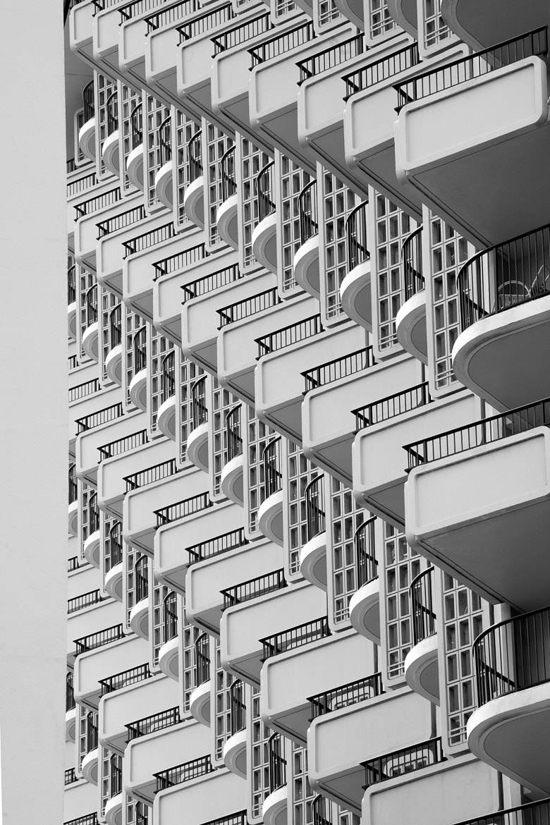 Photograph Waikiki Balconies by Patrick Yee on 500px
