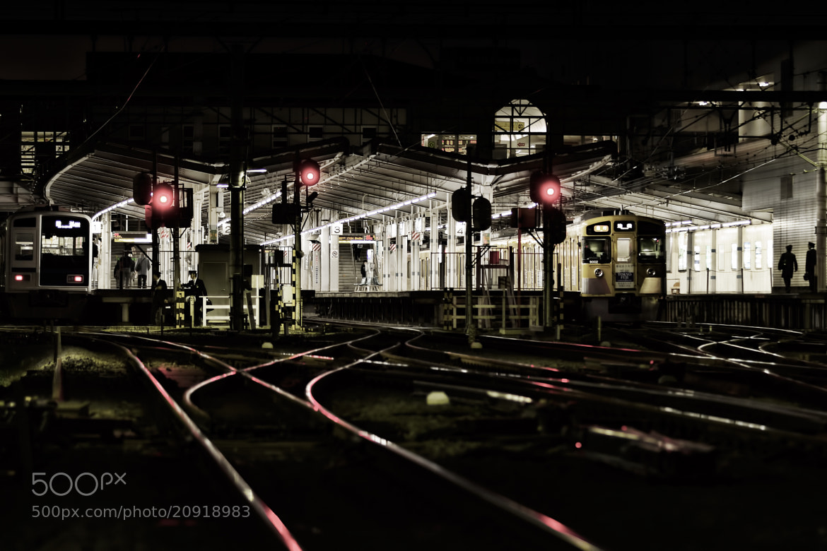 Photograph Station in the night by MIYAMOTO Y on 500px