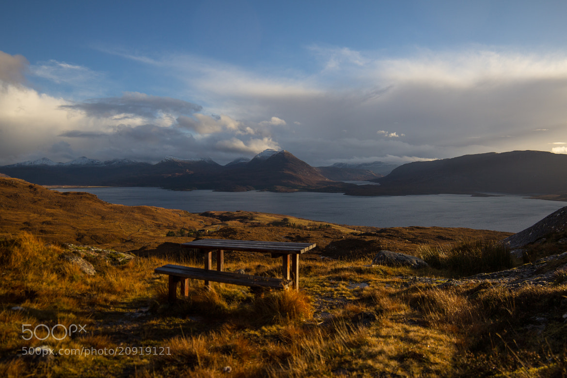Photograph Bench on the Edge by Dan James on 500px
