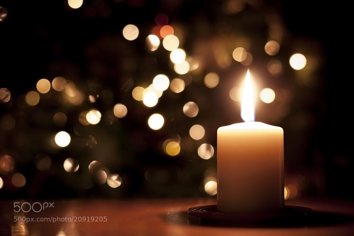 Photograph Christmas candle by Paolo Bugnone on 500px