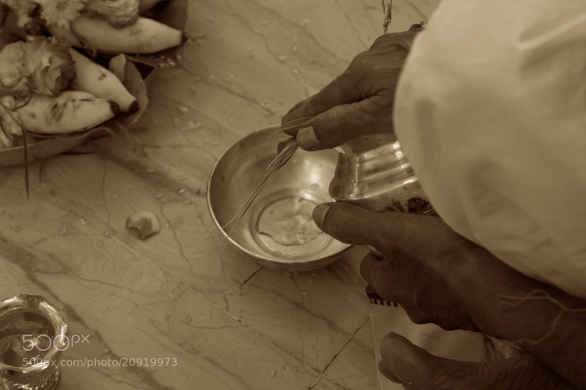 Photograph Hindu Prayers by Venkatesh Murthy on 500px