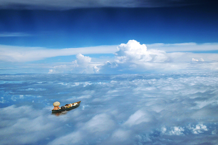 Photograph sailing on the clouds by 3 Joko on 500px