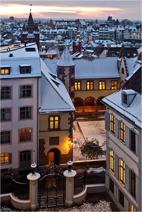 Photograph Old City Snow by Jan Geerk on 500px