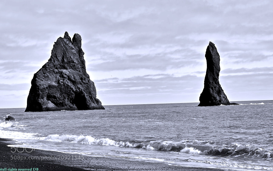 Photograph Vik (Iceland) by David Bargalló  on 500px