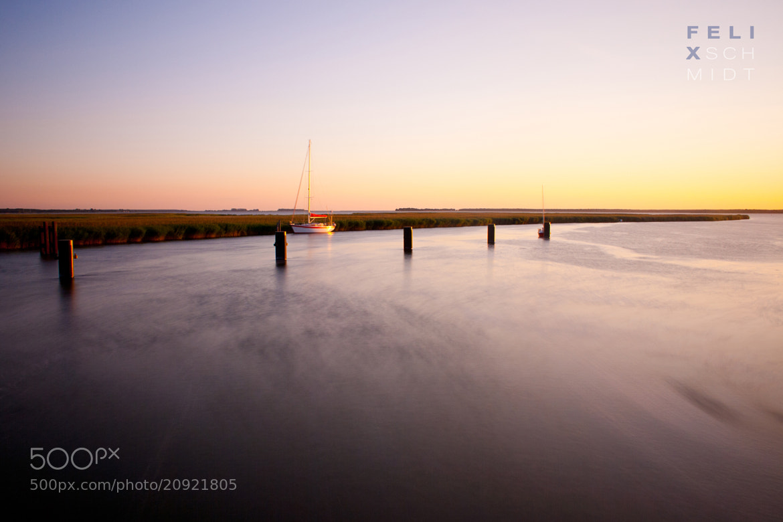 Photograph Sunset Boat by Felix Schmidt on 500px