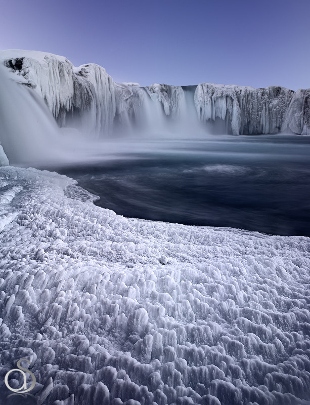 Photograph Godafoss Blues by Antony Spencer on 500px