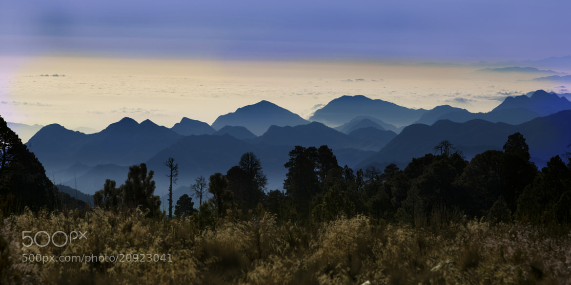 Photograph Mountains over the sky by Cristobal Garciaferro Rubio on 500px