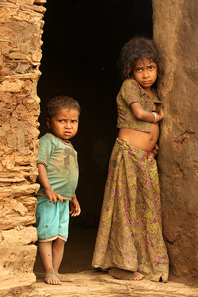 Photograph Do u know what there eyes are asking for...DREAMS ??? by Sharad Agrawal on 500px