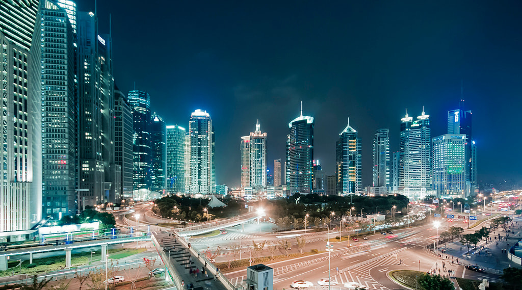 Photograph Pudong@Night by Andreas  Wecker on 500px