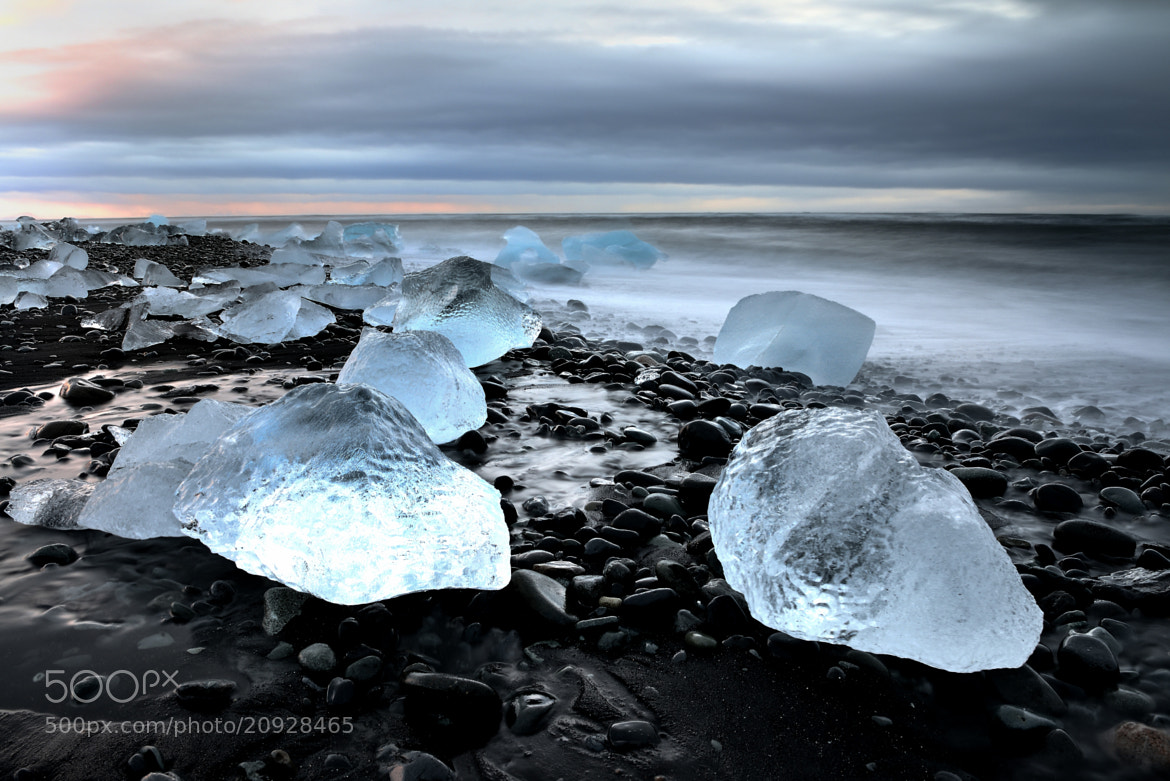 Photograph Blue Ice At Sunrise by Tony Riseley on 500px